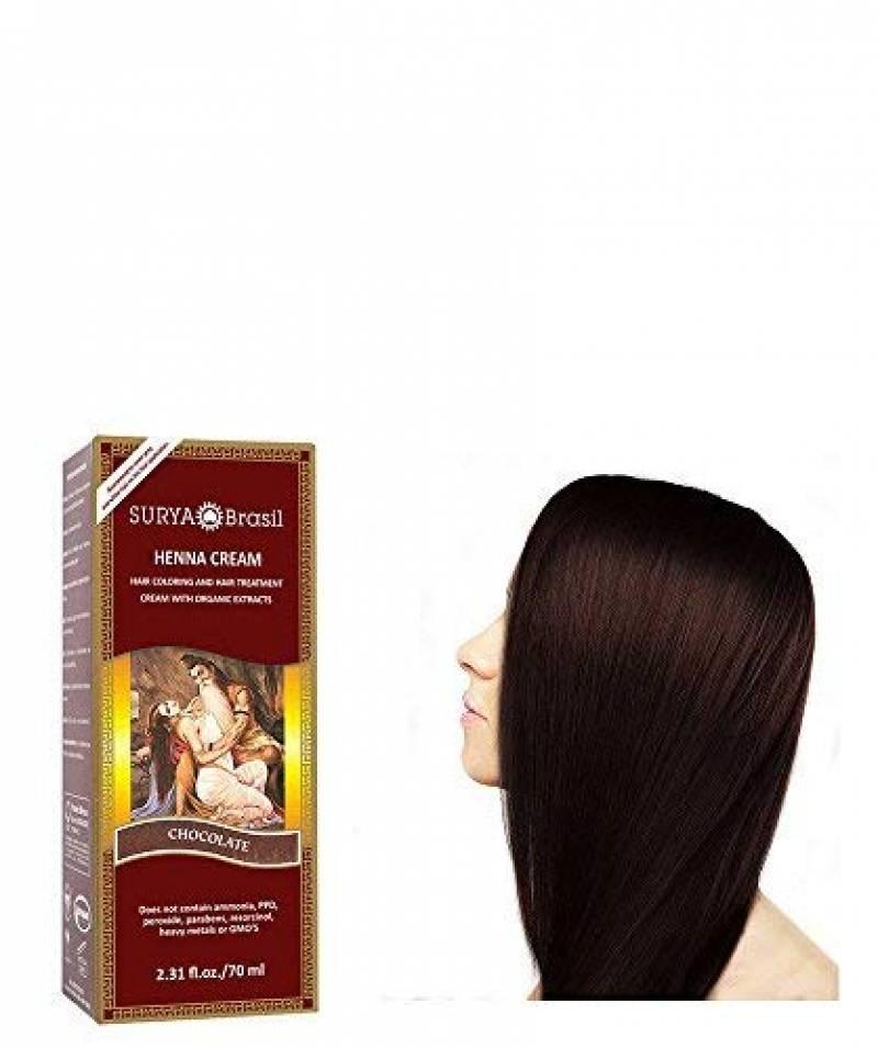Surya - Coloration cheveux - HENNA CREAM - 70ml - couleur Chocolat de la marque Surya Brasil TOP 3 image 0 produit